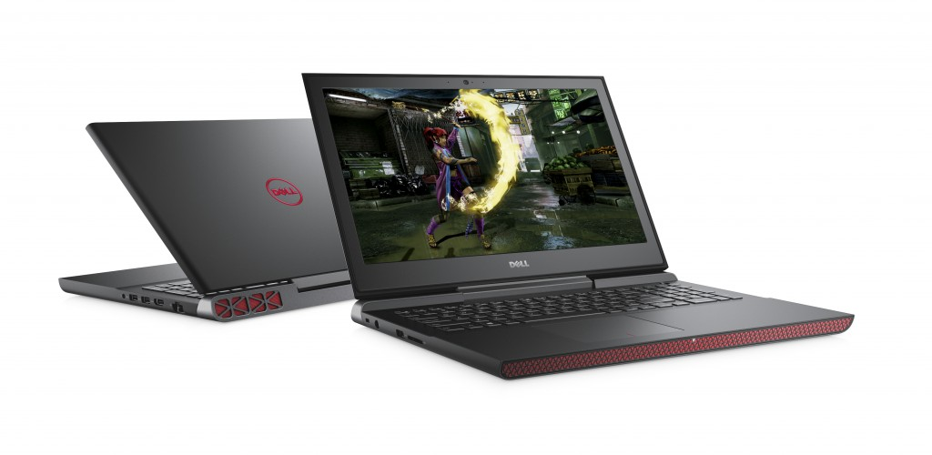 Dell Inspiron 15 7000 Series (Model 7567) notebook computer, codename Firelord, featuring KBL processor.