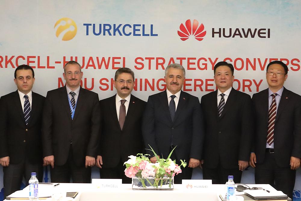 Turkcell-Huawei isbirligi